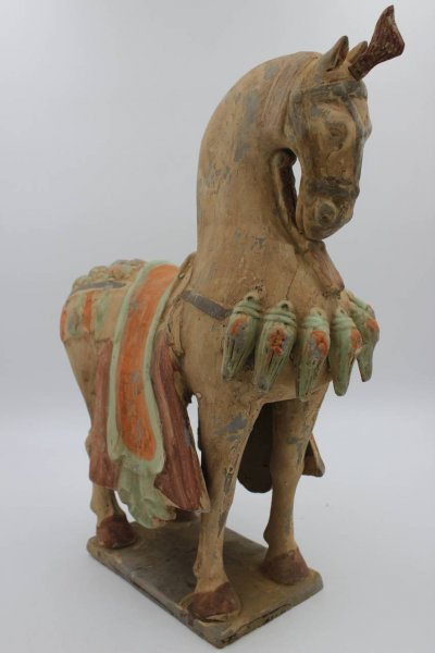 Terrakotta Pferde Figur aus China
