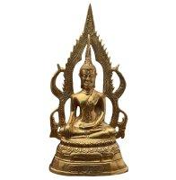 Buddha Figur Bronze Siddharta Gautama Thailand