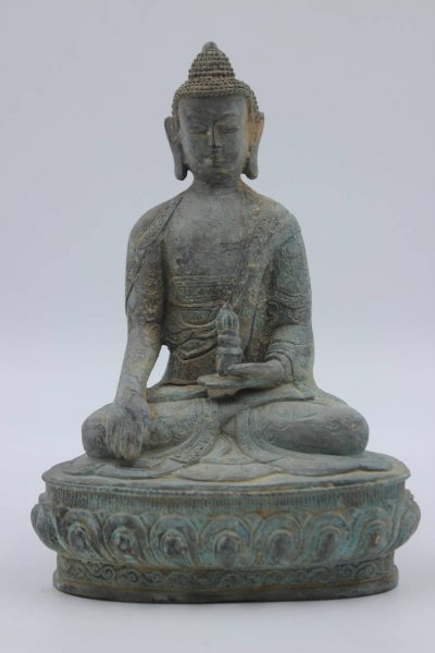 Siddharta Buddha Figur aus Bronze
