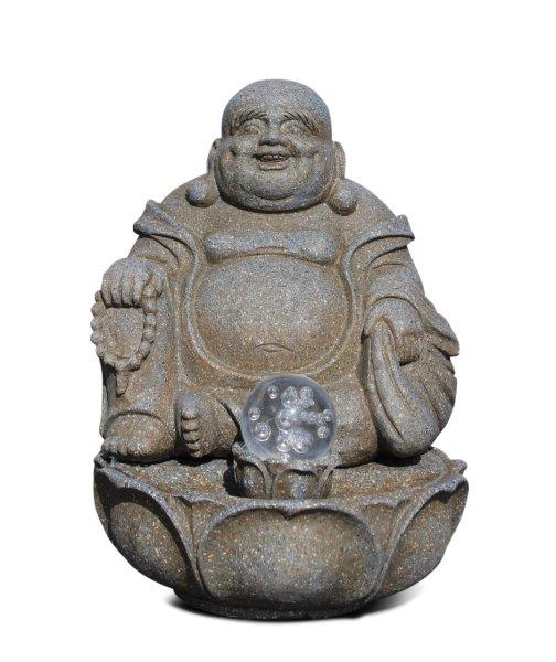 Buddha Brunnen Raumluftbefeuchter mit LED