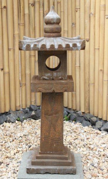 Asiatische Steinlaterne - Geisterhaus für Garten 1m