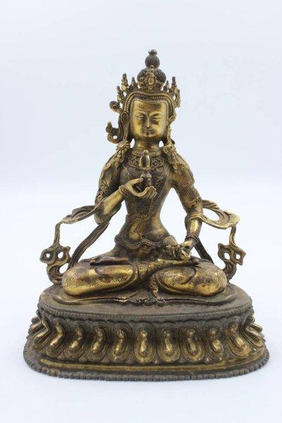 Vajrasattva Buddha Figur aus Bronze