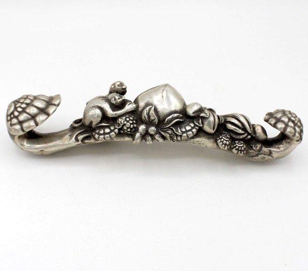 China Affen Zepter Bronze (20cm)
