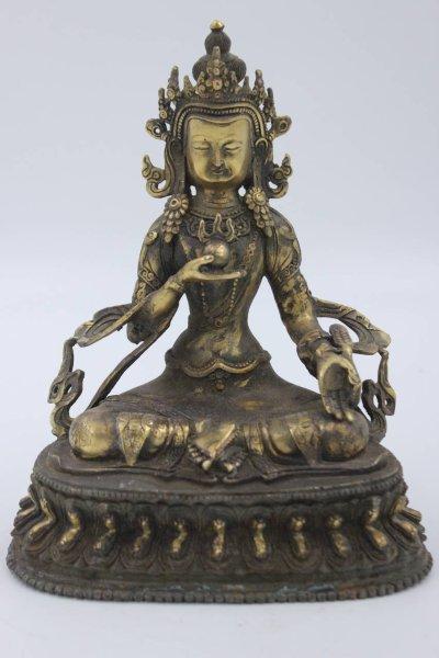 Tibetische Tara Bronze - Buddha Figur 21cm groß