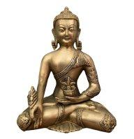 Medizin Buddha Figur Bronze (31cm) Bhaisajyaguru