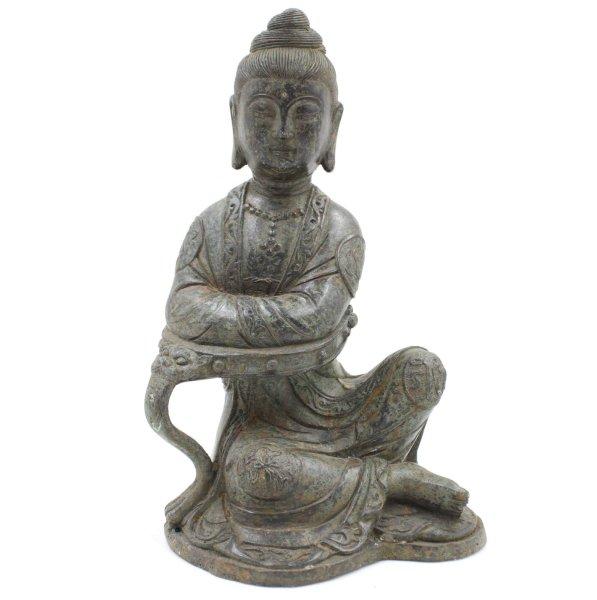 Guanyin Buddha Figur (27cm) Kwanyin Bronze Statue