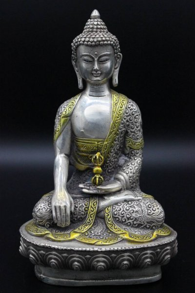 Buddha Figur Siddharta Gautama, Bronze