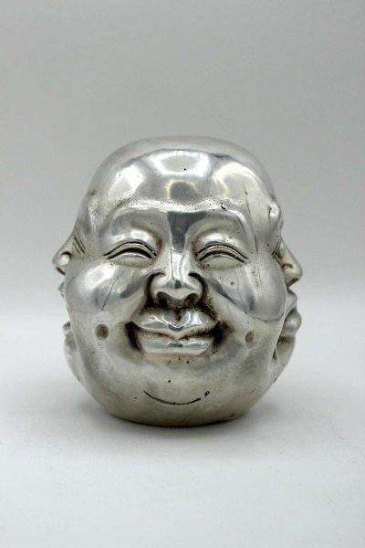 Hotai 4 Faces Buddha Kopf (12cm) Bronze
