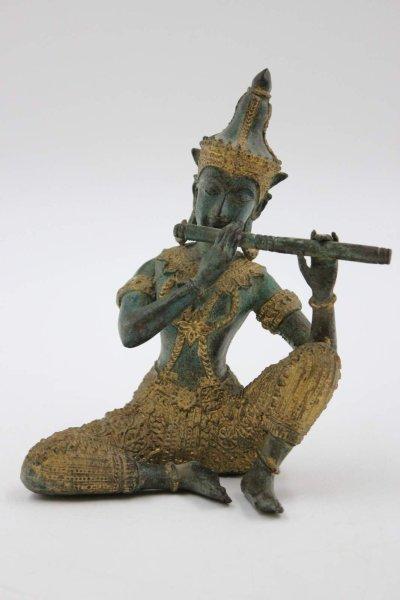 Thailändischer Teppanom aus Bronze