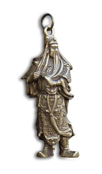 Guan-Yu Anhänger aus Bronze