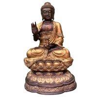 Buddha Figur (101cm) Bronze Karana Mudra