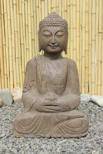 Amitabha Buddha Statue aus Naturstein