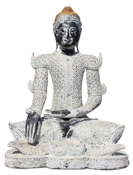 Holz Buddha Statue, Thailand