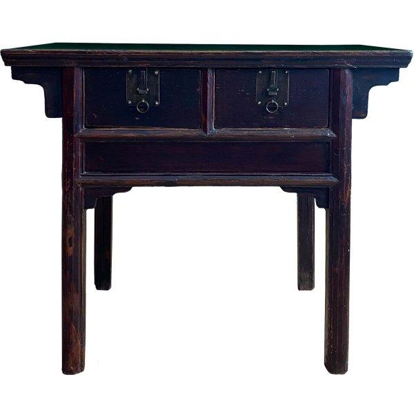 Tibet Altartisch - Beistelltisch - Ulmenholz - aus Nachlass