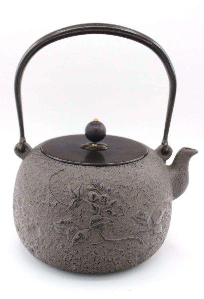 Blumen Gusseisen Teekanne (22cm) China Zeremonie Kanne