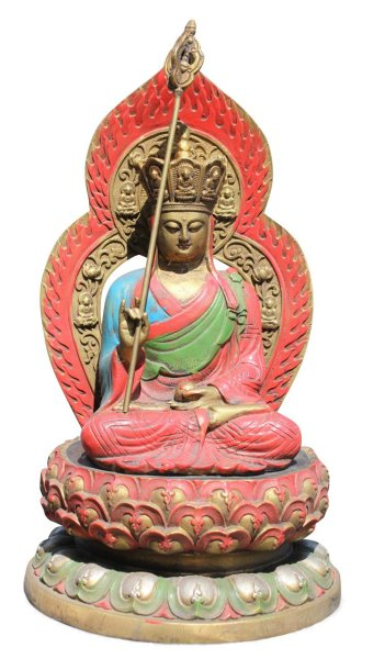 Ksitigarbha Bronze Figur aus China