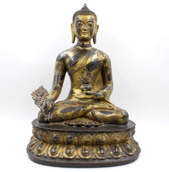 Medizin Buddha Figur (50cm) Bronze Statue