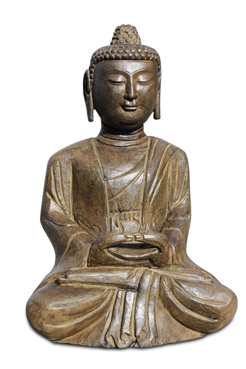buddha figuren aus stein f r den garten online kaufen. Black Bedroom Furniture Sets. Home Design Ideas