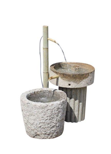 Asiatischer Naturstein Brunnen