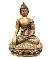 Siddharta Gautama Buddha Figur (33,5cm) Bronze