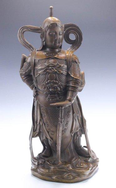 Skanda - Wei Tuo Bronze Bodhisattva