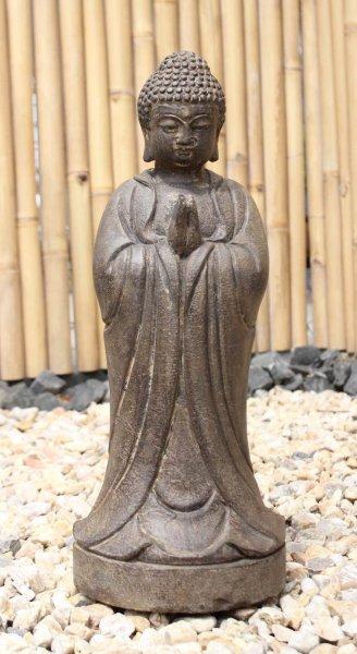 Garten Buddha Figur mit betender Handhaltung
