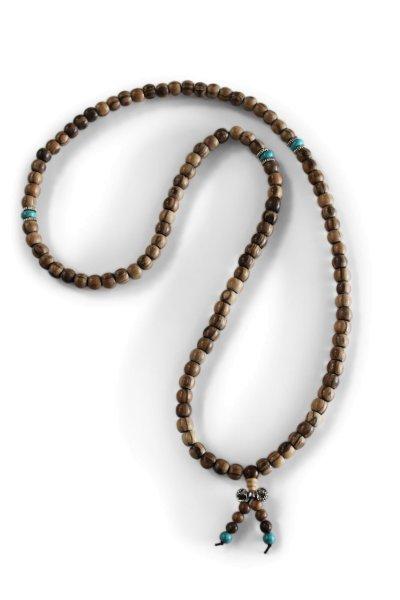 Mala Gebetskette aus Tamarindenholz