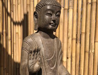 120cm großer : Naturstein Buddha ❤