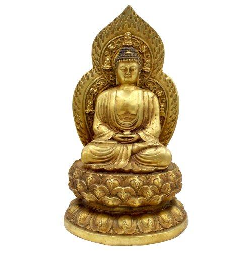 Amitabha Buddha (30cm) Bronze Figur Tibet