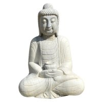 Marmor Amitabha Buddha (61cm) Garten Statue