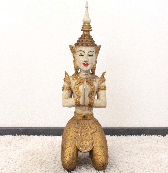 Teppanom Figur Thailand (71cm) Tempelwächter aus Holz