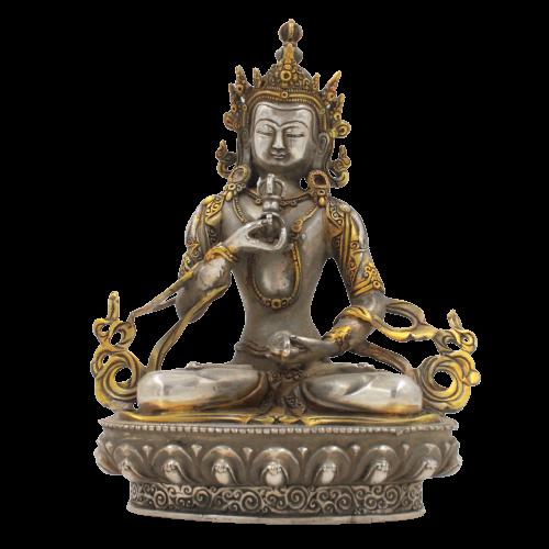 Vajrasattva Buddha Figur (21,5cm) Bronze Statue