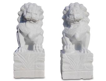 Weiße: Tempellöwen