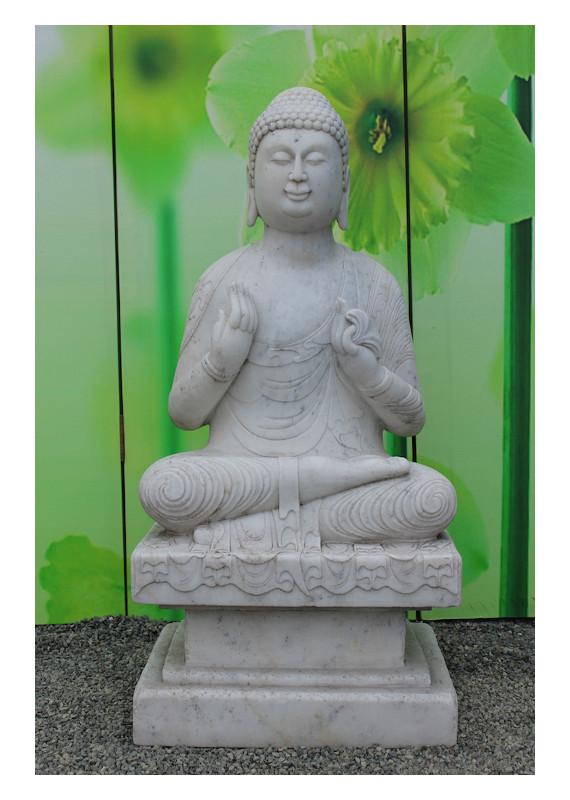 buddha figuren aus stein f r den garten online kaufen asien lifestyle. Black Bedroom Furniture Sets. Home Design Ideas