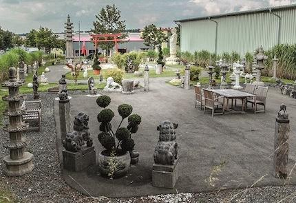 Besuchen Sie unsere: große Gartenausstellung