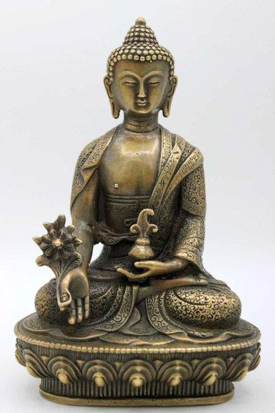 Bronze Medizin Buddha Figur aus China
