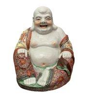 Happy Buddha Figur Porzellan - China 38cm
