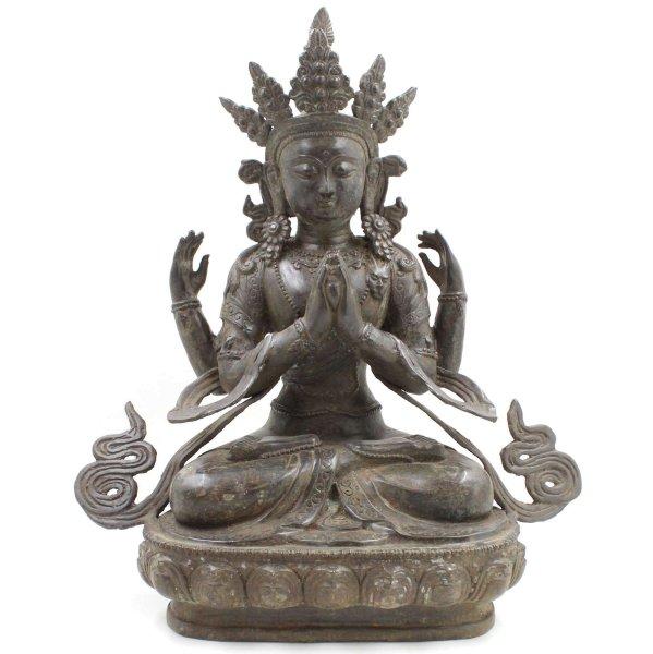 Buddha Figur Chenrezig Avalokiteshvara - 48 cm groß