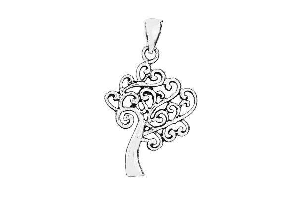 Lebensbaum Symbol Anhänger, 925er Sterlingsilber