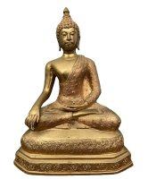 Buddha Figur Bronze Siddharta Gautama Thailand - Nachlass