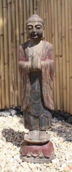 Garten Buddha Statue mit betender Handhaltung