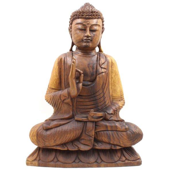 Vitarka Mudra Buddha Figur (50cm) Südostasien