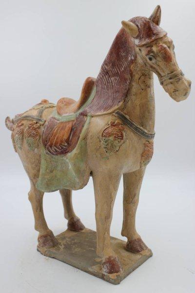 Tang Pferd Tonfigur aus China