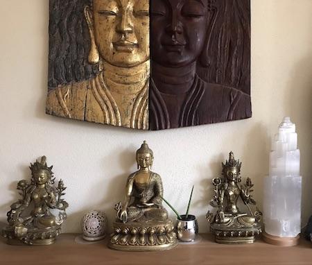 Buddha-Tara-Figur-Tibet