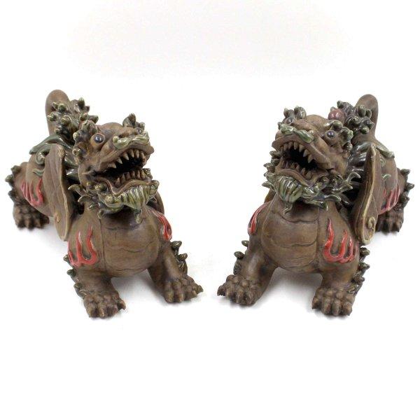 Pi Yao Keramik Figuren (20cm) Wächterlöwen