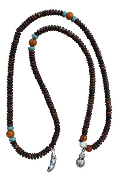Mala Gebetskette aus Rosenholz