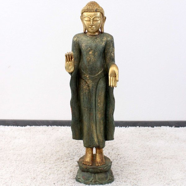 Amoghasiddhi Buddha Statue (94cm) Monkeywood Figur
