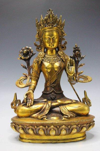 Weiße Tara Buddha 28cm