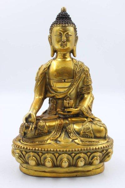 Buddha Figur aus Bronze - Siddharta Gautama