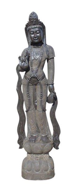 Garten Buddha Statue Kwan-Yin, 181 cm